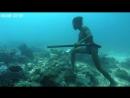Нереальная подводная рыбалка без акваланга
