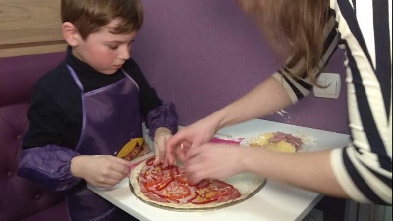 💝💜💛💚 Надзвичайно цікаво пройшов майстер-клас по виготовленню справжньої італійської піци!🍕🍕😋