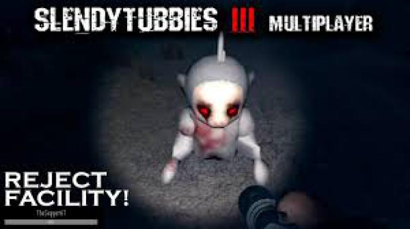 Slendytubbies 3 Multiplayer 1 27 Прохождение Карта Завод Фабрики Режим Соло Выживание
