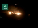 Пожарные тушат крупный пожар в подмосковной деревне Лешково ФАН публикует видео
