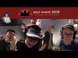 Cavoe's osu! event 2018 Stream Highlights Chuki The Wolf