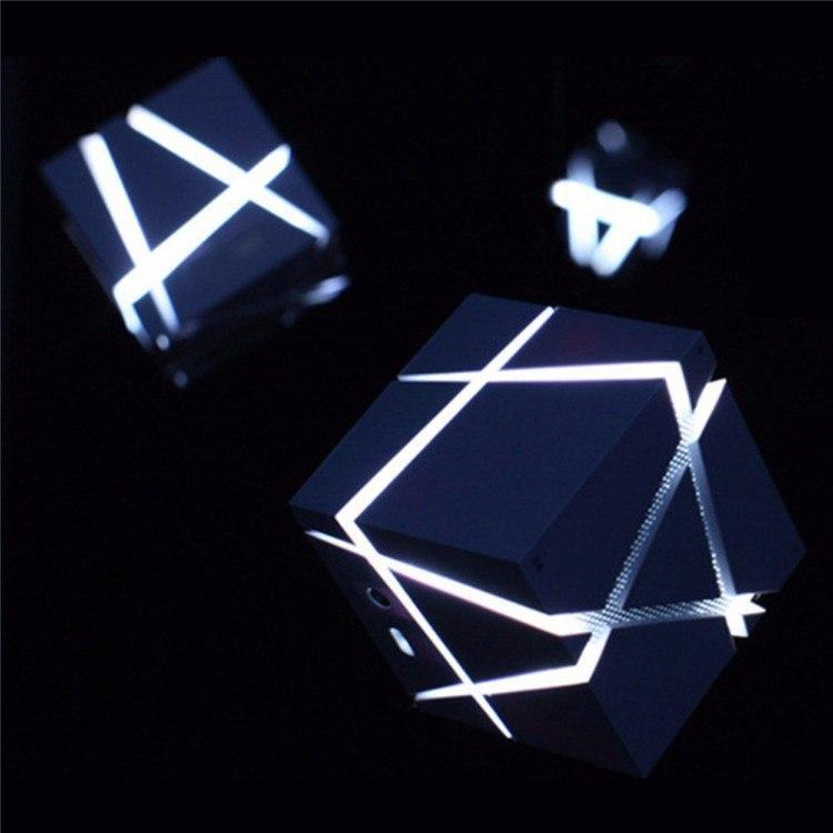 Портативные КОЛОНКИ с подсветкой