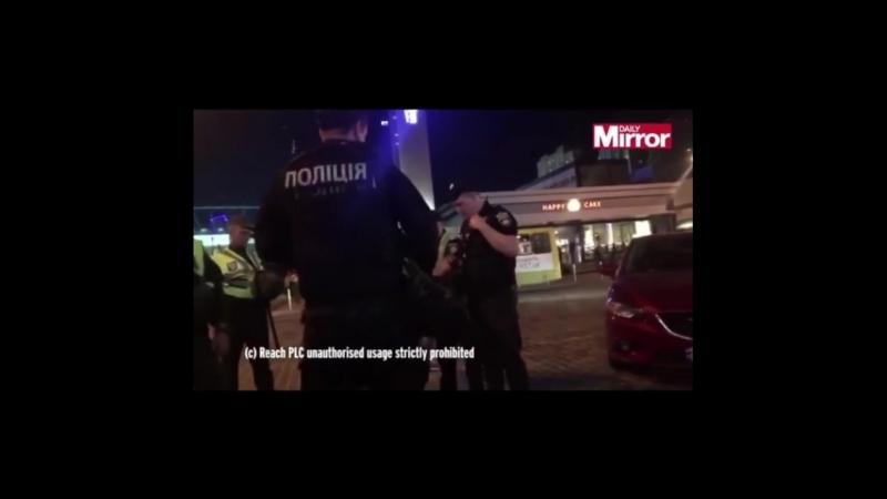 Украинские «кони» настучали по «ливеру»