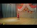 Хацько Виктория, полуфинал Всеукраинского телеконкурса Зірки та зіроньки