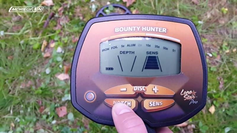 Bounty Hunter Lone Star Pro - Обзор металлоискателя тест на глубину