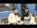 180418 Хо Ёнджи и актёр Kang Sung Wook гости на SBS Power FM Park Sohyun's Love Game