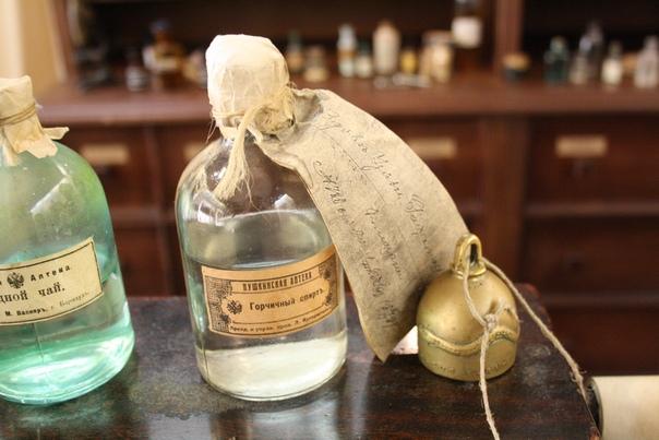 Пример, как завязывались этикетки на бутылку.