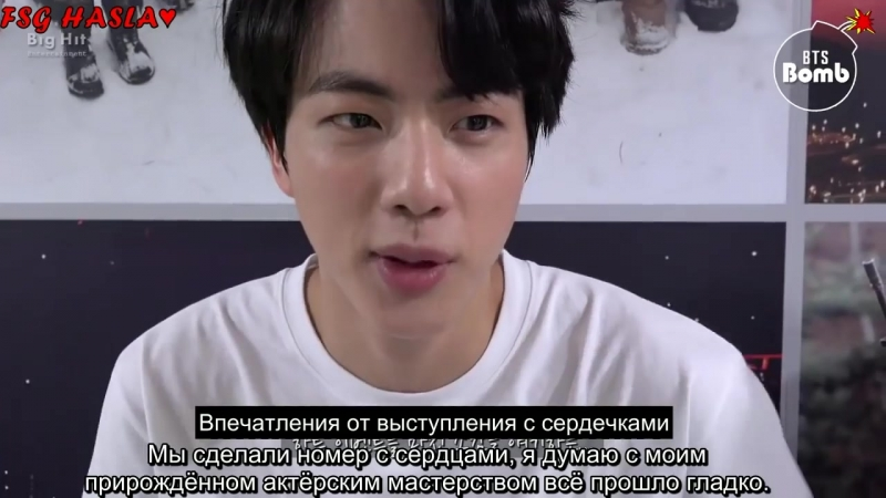 -RUS SUB- BANGTAN BOMB Behind the stage of '고민보다Go- heart ver -2017 MBC
