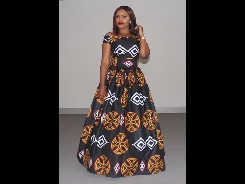 Latest African Print Dresses 2018: 100 Ways To Rock African Print Dresses 2018