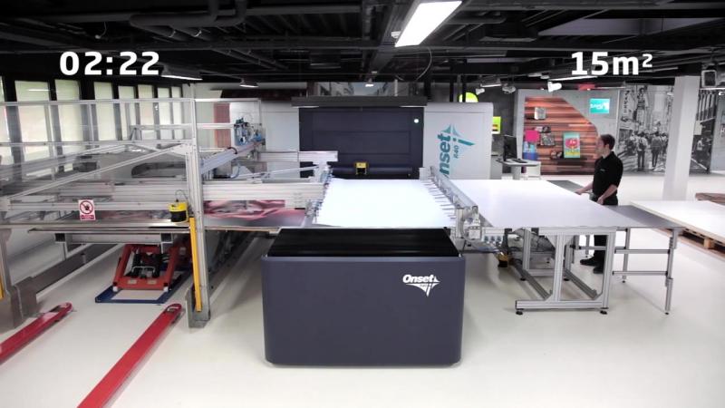 Высокопроизводительный УФ-принтер Inca Onset R40i