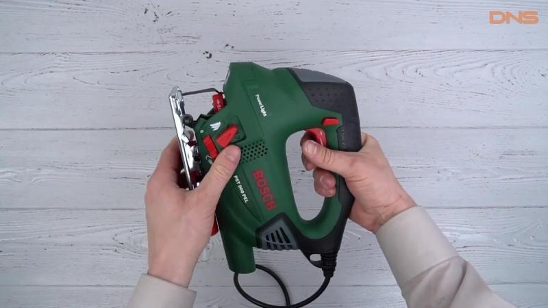 Распаковка электрического лобзика Bosch PST 900 PEL