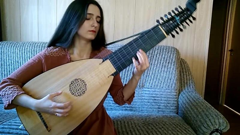 S.L. Weiss - Prelude. Marina Belova - lute
