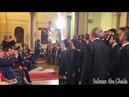 Хор в церкви поет имена Аллаhа