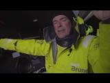 We are behind and that worries skipper Bouwe Bekking.