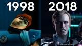 Evolution of Quantic Dream Games 1999-2018