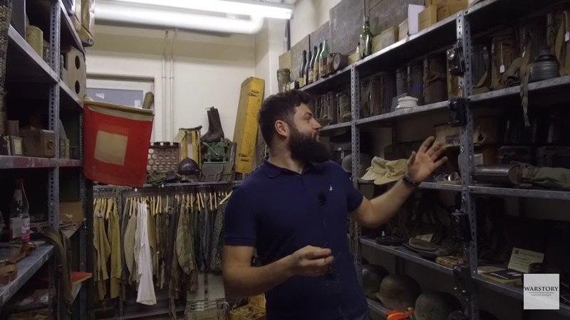 Бункер немецкого коллекционера [немецкое военное снаряжение и снаряжение РККА]
