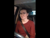 Виктория Черенцова. Трансляция-концерт с песнями в машине.