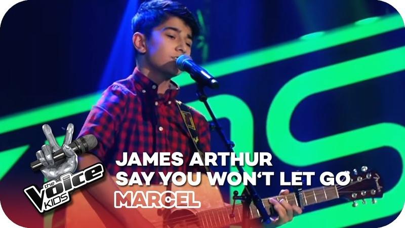 James Arthur - Say You Won't Let Go (Marcel)   Blind Auditions   The Voice Kids 2018   SAT.1