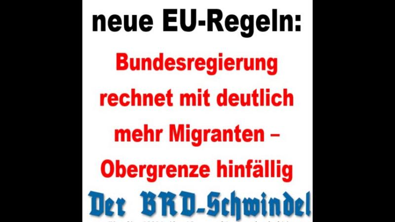 Neue EU Regeln Bundesregierung rechnet mit deutlich mehr Migranten Obergrenze hinfällig
