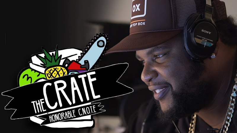 Honorable C.N.O.T.E. Makes A Beat On The Spot   The Crate