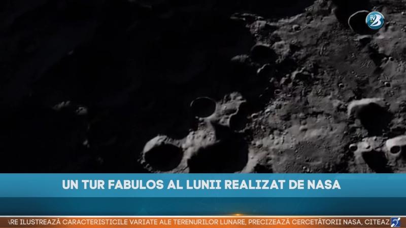 UN TUR FABULOS AL LUNII REALIZAT DE NASA