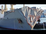 Ships collision in Gibraltar - Human Error - Case Study on true incident