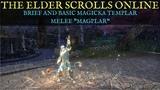 TESO: Magicka Templar Melee Brief and Basic