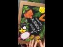 Коробка фруктов из Тайланда