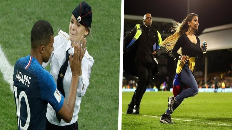 Craziest and Funniest Pitch Invaders in Football | Football Circus/Comedy (2018)