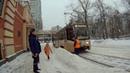 Трамвай 45 Новоконная площадь Сокольническая застава