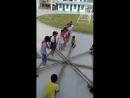Танец с бамбуковыми палками в Китае! 😊👶👍 ПреАмбулаДосуг