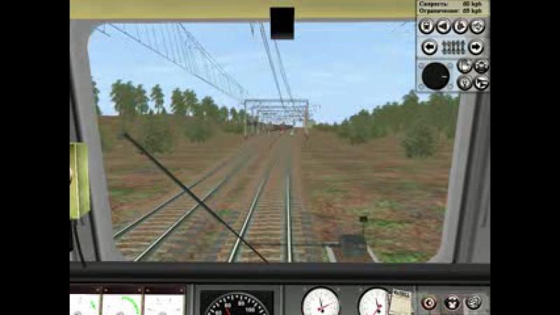 станция Проливы-на электровозе ЭП1