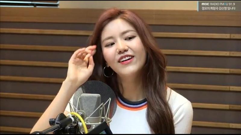 AOA Cut MBC FM4U 2018 06 07