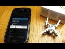 Мини квадрик с камерой! Cheerson CX-10W Полет и тест видео