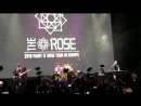 The rose Paint it rose tour Moscow