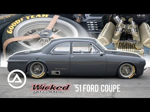 The $1.4 Million 51 Ford Coupe by Wicked Fabrication | For Bruce Leven