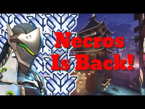 Necros The Fastest Genji Comes Back To Overwatch! Montage 4!