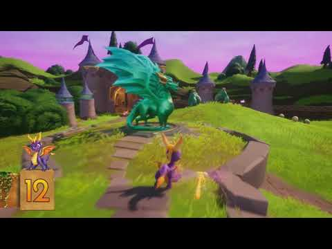 Artisans - All footage Spyro Reignited trilogy