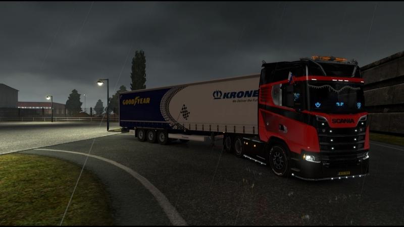 Euro Truck Simulator 2 МУЛЬТИПЛЕЕР ☆ Конвоем выполняем ивент