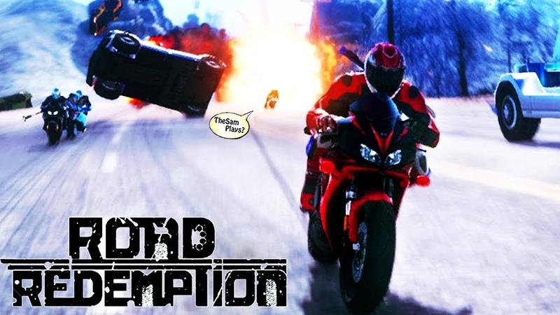 ДОРОЖНОЕ БЕЗУМИЕ - ROAD RASH 2018 - Road Redemption - Обзор и прохождение [Reapers]