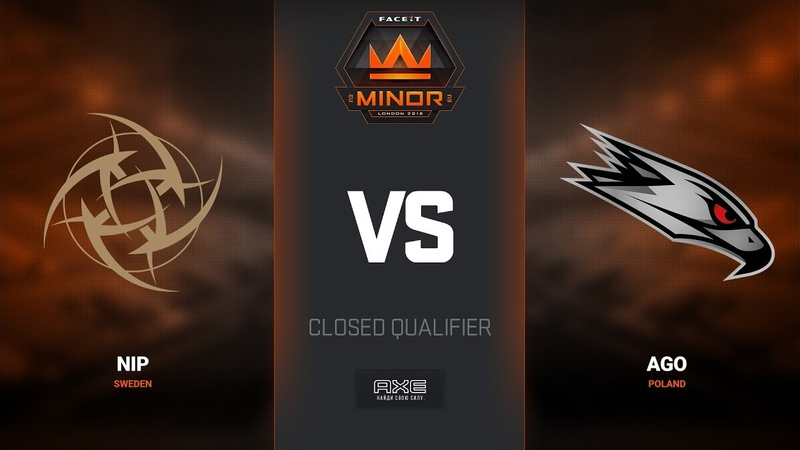 NiP vs AGO, map 1 cache, Europe Minor Closed Qualifier – FACEIT Major 2018