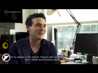 Интервью для The Skybound Insider. Робин Лорд Тейлор из «Готэма» и Аарон Сейджерс [rus sub]