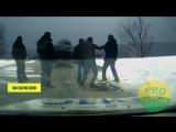 Жесткое нападение на инспектора ДПС в Липецкой области попало на видео