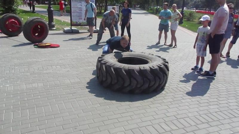 Толчок покрышки 150 кг
