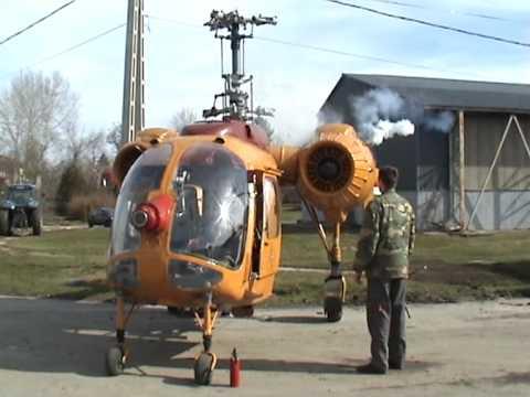 Kamov Ka-26 HA-MPZ tavaszi készülődés
