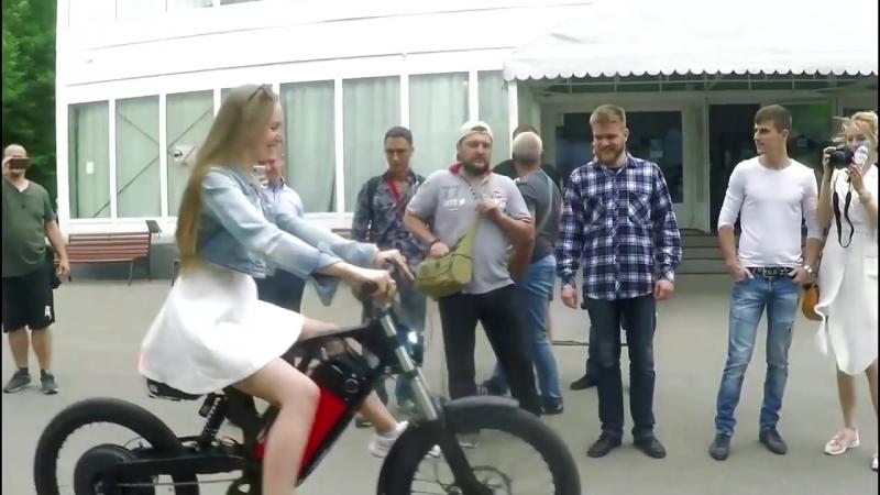 ☀ Яркие моменты. «Тест драйв» мотор-колеса Дуюнова