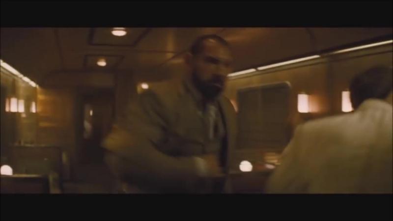 [HD] Spectre - Train Fight Scene (Batista vs James Bond 007)