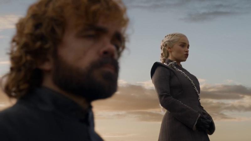 Дейнерис приказывает Дрогону заживо сжечь Тарли. Игра Престолов (7 сезон 5 серия)