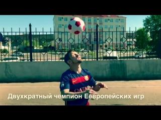 КВН-щики и борцы Бурятии снялись в ролике футбольного турнира