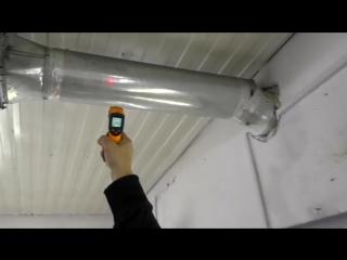 САМОДЕЛЬНЫЙ обогрев ПОКРАСОЧНОЙ камеры КАК НАГРЕТЬ ПРИТОК в морозы ПРОСТОЕ решен
